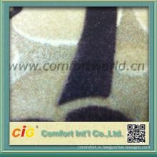 Моды последних мягкий полиэстер флокирования тканей для штор