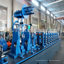 Machine de formage rouleau tuyau de soudure haute fréquence des coutures droites