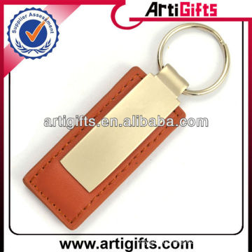 2013 Promotional blank keychain leather