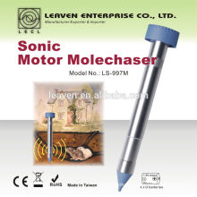 Anti mole gopher garden animal repeller mole chaser mole repeller chase use battery 24 hours working