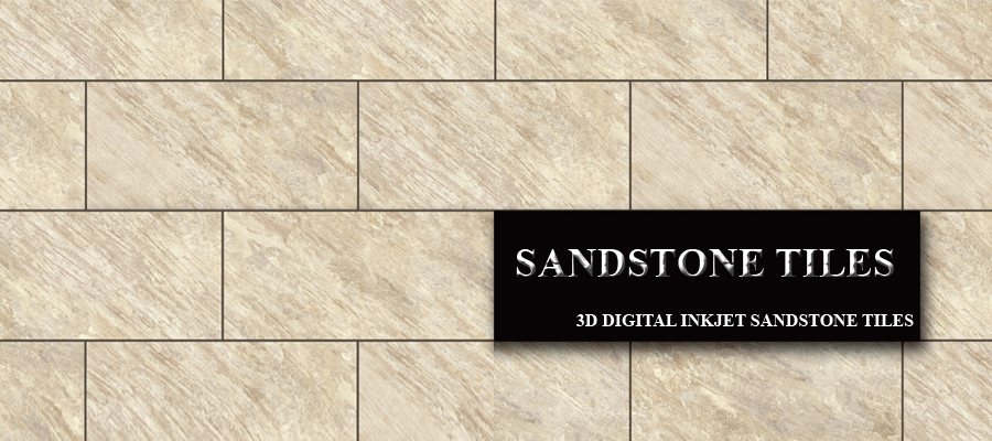 sandstone tiles outdoor