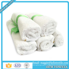 Sample free 100% Natural organic baby bamboo washcloths towel baby