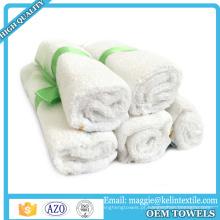 Amostra livre 100% bebê Orgânico natural bebê toalhinhas de bambu toalha bebê