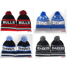 Mode Winter Knitted Baseball Fußball Basketball warm Obey Chenille Beanie Männer Hut Mode Hiphop Homies Sport Mützen
