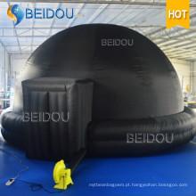 Inflável Planetário Digital Portátil Tenda Projetor Inflável Planetário Dome