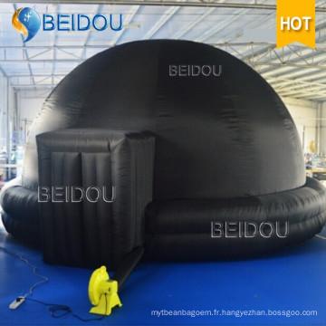 Plateau de projecteur de planétarium portable portatif gonflable Dôme de planétarium gonflable