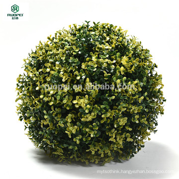 cheap decorative plastic boxwood ball for ceilling