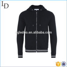 Navy/White Tipping Hooded wholesale hoodies men customized in bulk