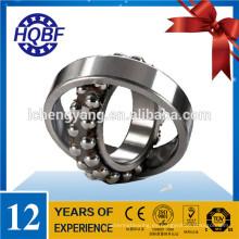 Miniatura auto alineación de rodamientos de bola de acero al cromo