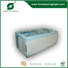 Caja blanca de papel de marfil