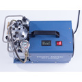 High pressure portable automatic shut off air compressor