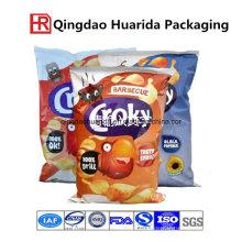 Kartoffelchips Plastiklebensmittelverpackungs-Tasche
