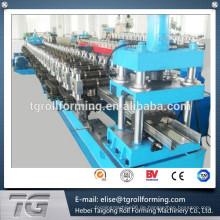 Automatische w-förmige Stahlwalze Formmaschine w Pfette Walze Formmaschine Wasser Welle Maschine