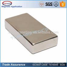 Grade N52 Block Wind Turbines Magnet Neodymium Price for Motor Magnet