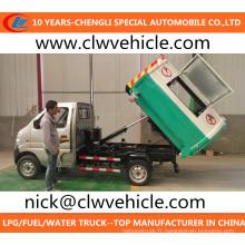 Camion à ordures Mini Camion à ordures 4X2 Camion à ordures Changan
