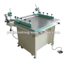 HS-6080 Manual screen printing machine with vacuum and side clamps