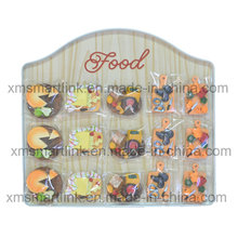 Resin Food Fignrine Magnet