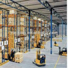 Sistema de estantería de paletas VNA de servicio pesado