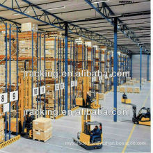 Heavy duty VNA pallet racking system