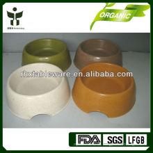 Cuenco de perro de fibra de bambú ecológico