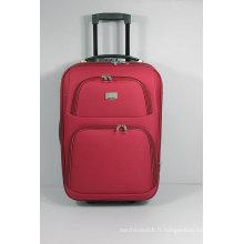Caisse de bagage de voyage de chariot extérieur d'EVA mou