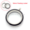 New products round enamel screw floating charms pendant locket, the illusionist locket with factory wholesale price