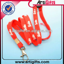 Free sample custom printed wrist lanyard