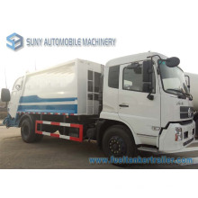 Camión de basura compactador Dongfeng Tianjin 4X2 8cbm