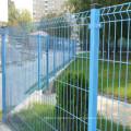 Valla de seguridad de malla de alambre soldada residencial