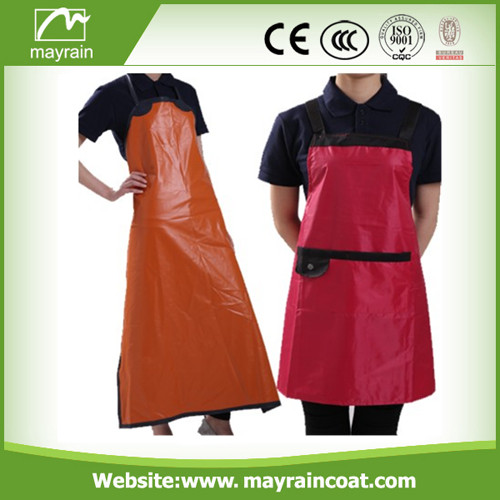 Long PU Adult Apron