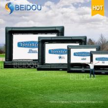 Factorysale TV Cinema Ecrans de projection arrière Ecran de film gonflable extérieur