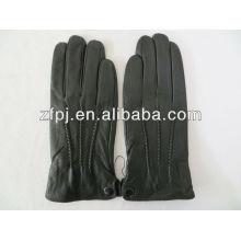Nuevos guantes de cuero populares de los muchachos del estilo para el tacto