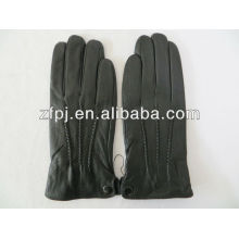 popular new style boys leather gloves for touch