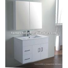 Шкаф ванной комнаты MDF с зеркальным шкафом