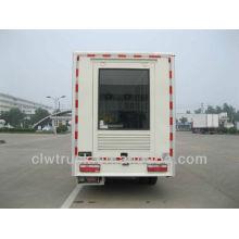 JAC mini P10 LED módulo de camión móvil con vídeo, 4 * 2 led pantalla