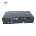 2xgigabit SFP + 2xgigabit ethernet ports media converter