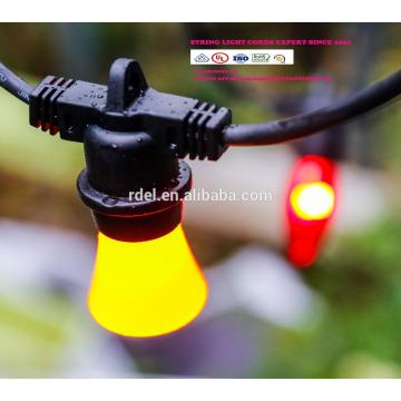 Водонепроницаемый 15м 15 строку розетки освещения товарного сорта Сид e26 Лампа E27 праздник светодиодные строки свет СЛТ-192