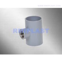 T roscada de cobre y PVC BSPT