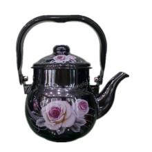 Кухонная посуда, Чайник эмалированный, Чайник эмалированной посуды, Стальной эмалевый чайник