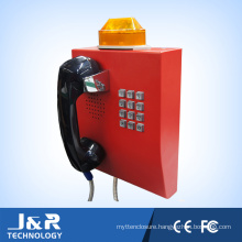 Bank Service Telephone with Keypad and Handset