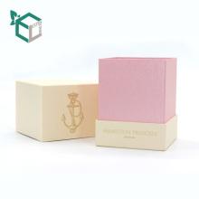 Precio industrial de lujo Logo impreso cajas de velas al por mayor caja de embalaje de papel caja de embalaje impresa