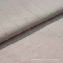 Good quality solid dobby 100% rayon fabric