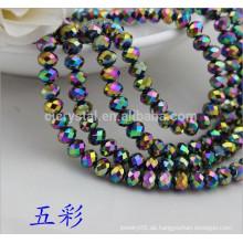 Großhandel lose Stein Rondelle Perlen, Kristall Perlen