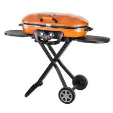 Im Freien beweglicher faltbarer kampierender Gas-Grill-Grill BBQ
