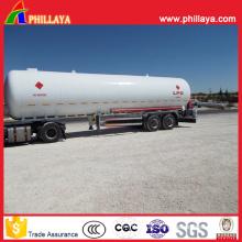 3 Axle Truck 36-58cbm Liquidfied Gas LPG Tank Semi Trailer