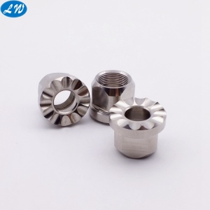 CNC turning machined stainless steel precision parts
