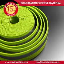 High visibility safety reflective webbing