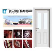 Porta de madeira de aço interior (LTG-202)