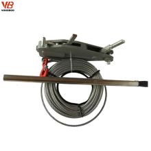 Bau-anhebende und Hebezeug-Kabel-Drahtseil-Abziehvorrichtung-manuelle Hebemaschine