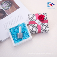 Free sample custom small cosmetics gift box set manufacturers